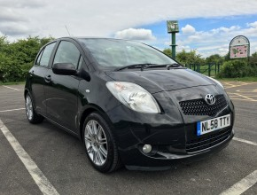 2008 (58) Toyota Yaris 1.3 VVT-i SR 5dr, ONE OWNER FROM NEW, TOM TOM SAT NAV